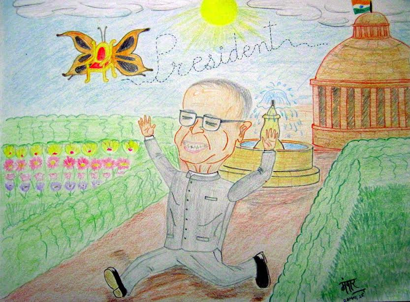 India Gets Its New 'First Citizen'- Pranab Mukherjee Wins The Presidential Run!