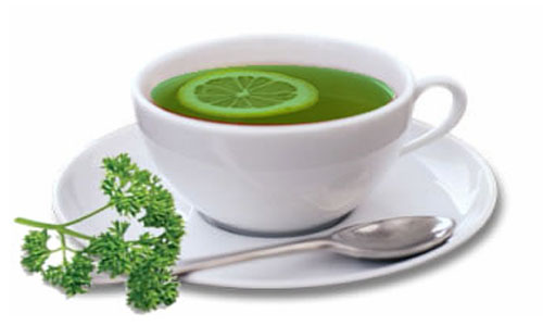 parsley tea