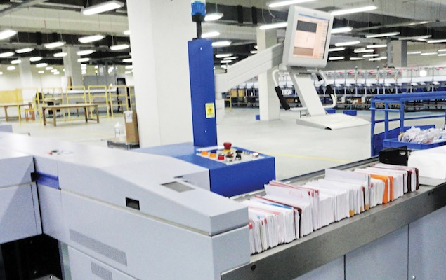 India Post's Automated Mail Posting Center Will Flip Out ~10 Lakh Mails/Day!