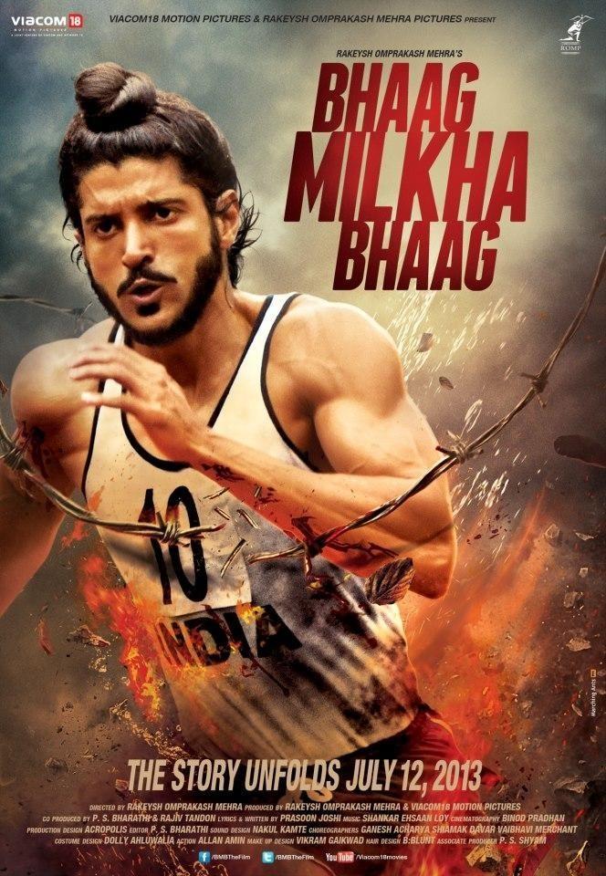 bhaag milkha bhaag poster farhan akhtar large