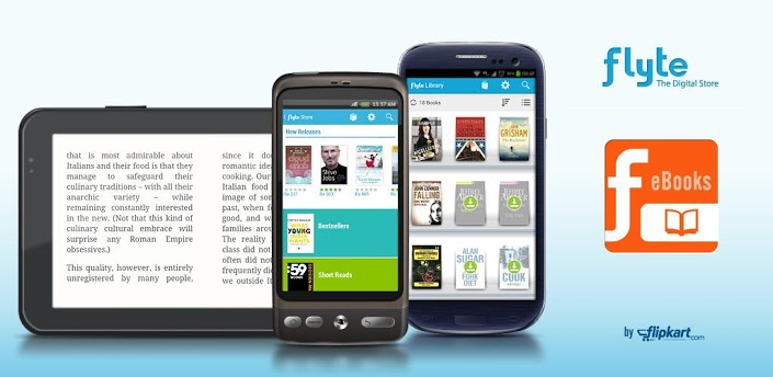 "Flipkart Launches e-book Store. This ""Shopping Ka Naya Item"" Limited To Android Users As Of Now."