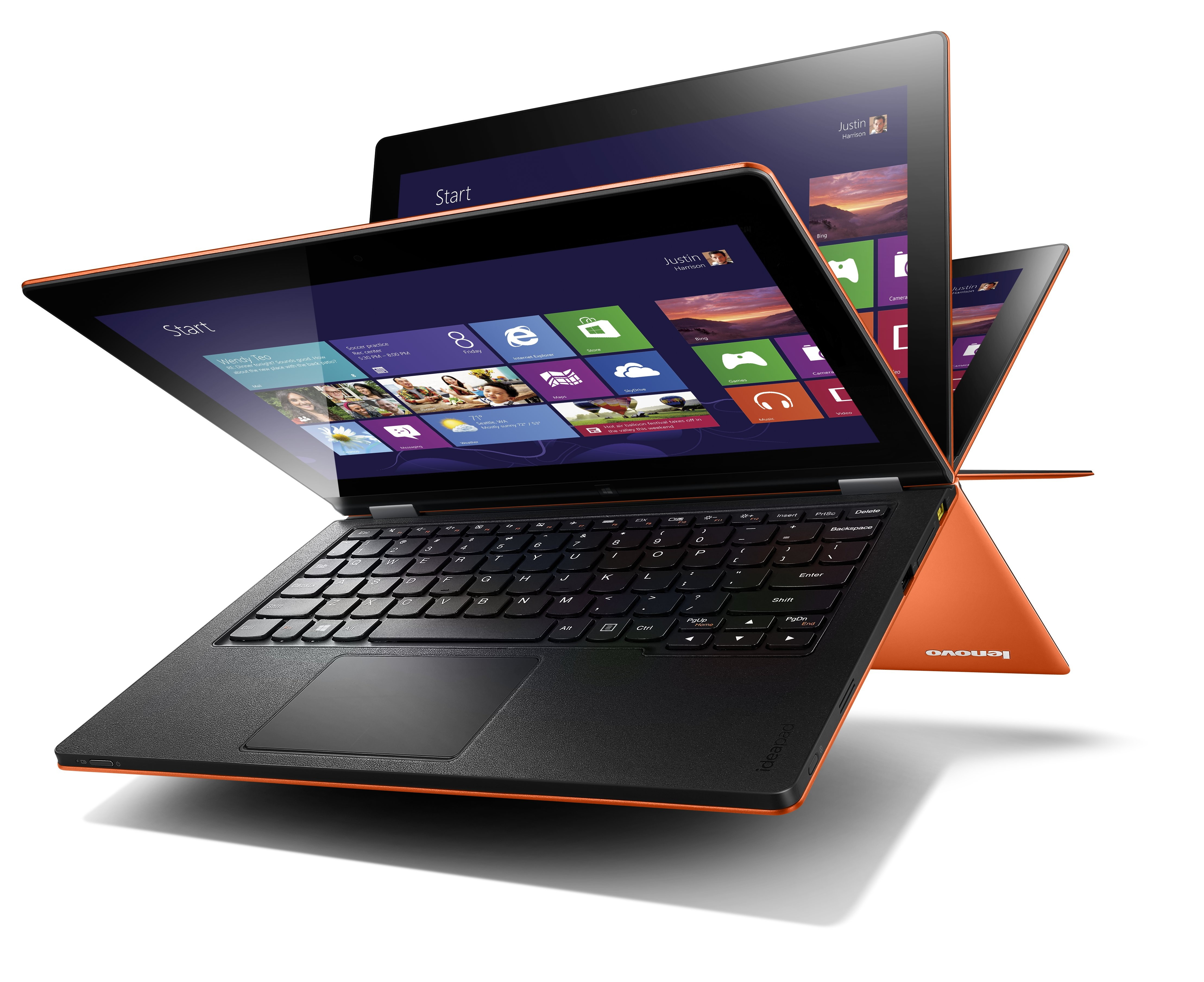 'Yogic' IdeaPads: Lenovo Introduces Yoga 11 And Yoga 13 In India!