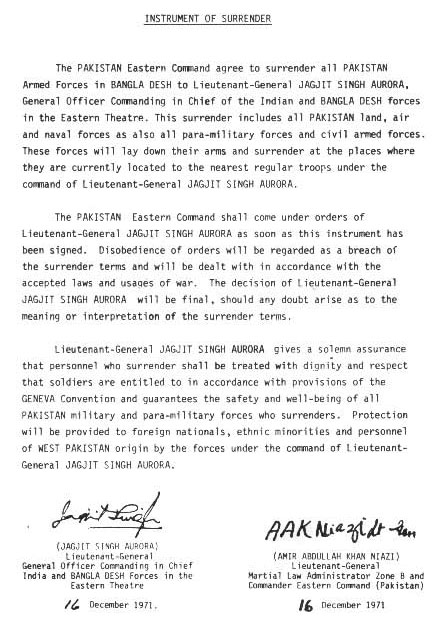 Instrument Of Surrender