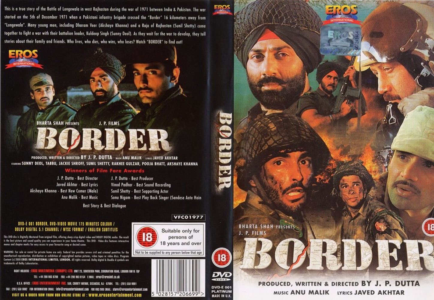 Borders Indian Movie Attacked The Indian Border