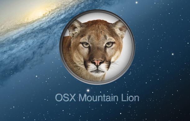 Mac OSX Mountain Lion