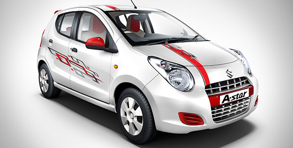 Maruti Launches 'Youth-Centric' Limited Edition A-Star Aktiv In India!