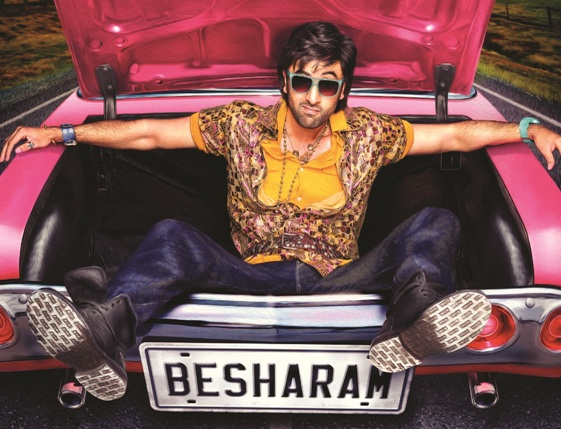 First Look: Ranbir Kapoor Starring 'Besharam' Movie Poster!