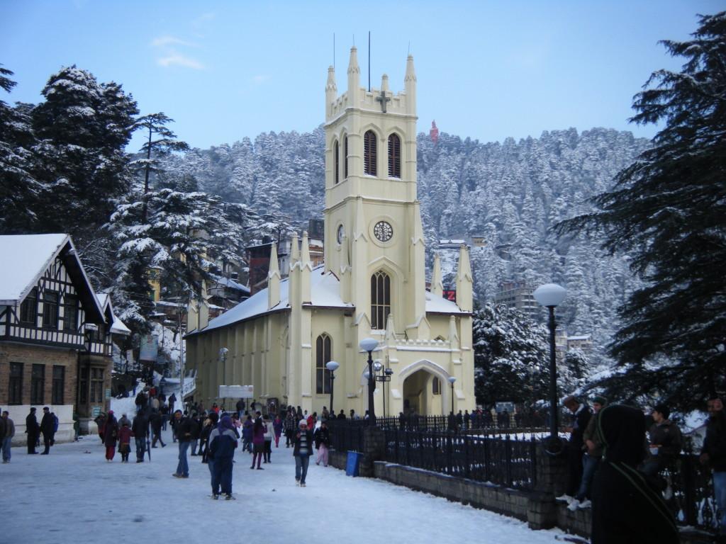 Church, Shimla