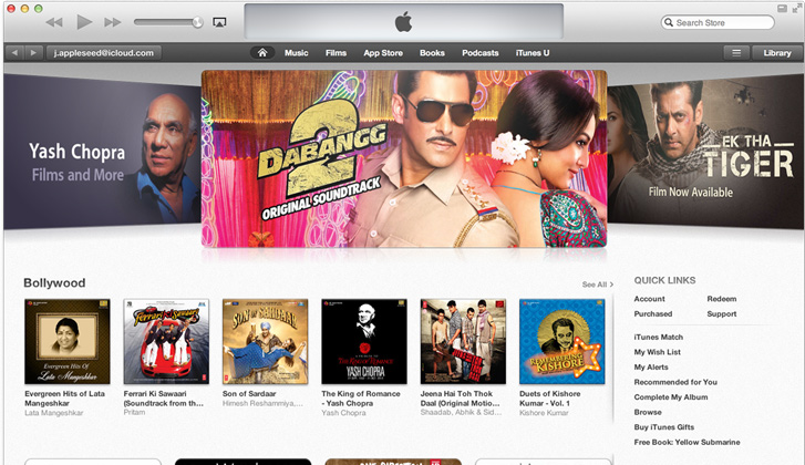 Apple iTunes Store Finally Launched In India. Purchase Any Song From INR 7/- To INR 15/-