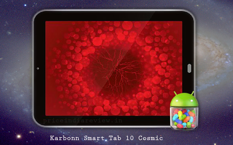 Karbonn Launches Android 4.1 Cosmic Smart Tab 10 @ INR 10490/-