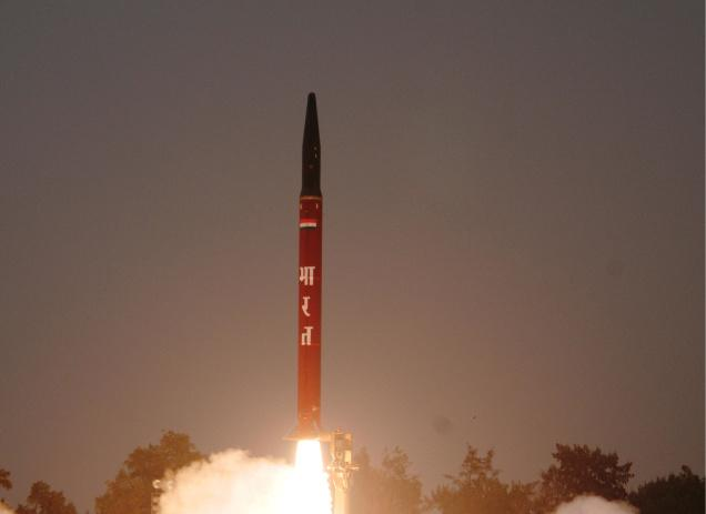 Nuclear-Capable Agni-1 Ballistic Missile Successfully Test-Fired!