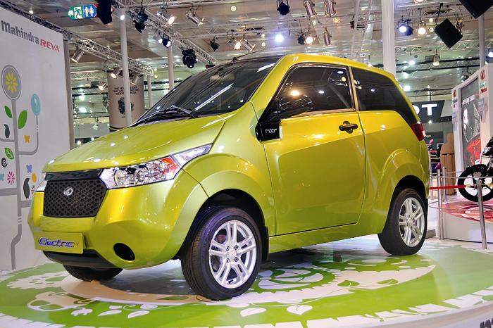 Mahindra-Reva-NXR-E2O electric car