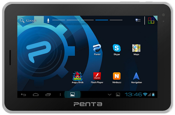 Penta T-Pad WS707C: India's First EDGE-enabled Android Tab-PC Offering Voice Calling & 3D Graphics. Priced INR 7,999/-