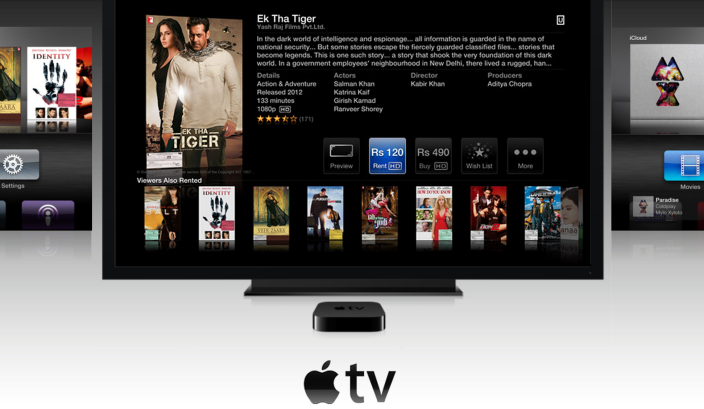 Media Streaming Apple TV Launched In India For INR 8,295/-
