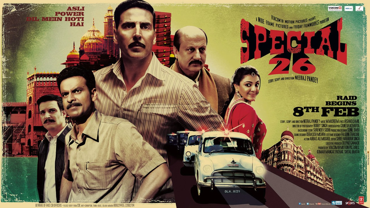 Movie Review: Special 26 | This 'Con'-Course Is One Speedy Affair!