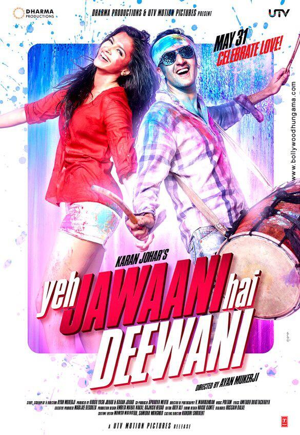 First Look: Ranbir Kapoor And Deepika Padukone In Karan Johar's 'Yeh Jawaani Hai Deewani'