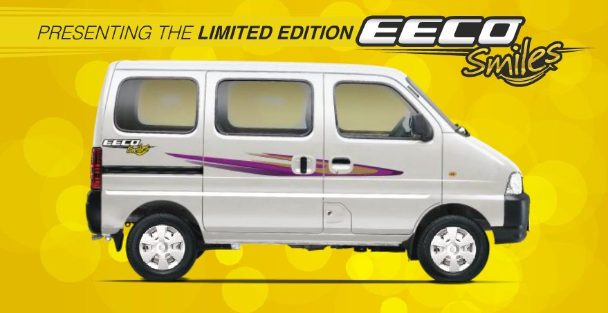 Maruti Suzuki Eeco Drives In With A New Limited 'Smiles' Edition!