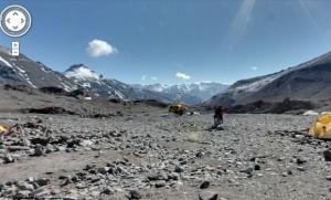 everest base camp google maps