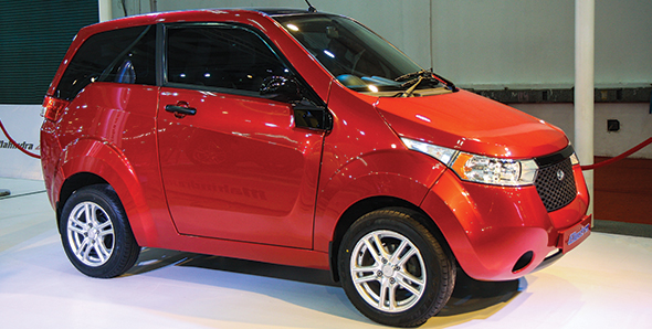 Mahindra Reva e2o Electric Car To Launch In India On March 18. Price Not Revealed Yet.