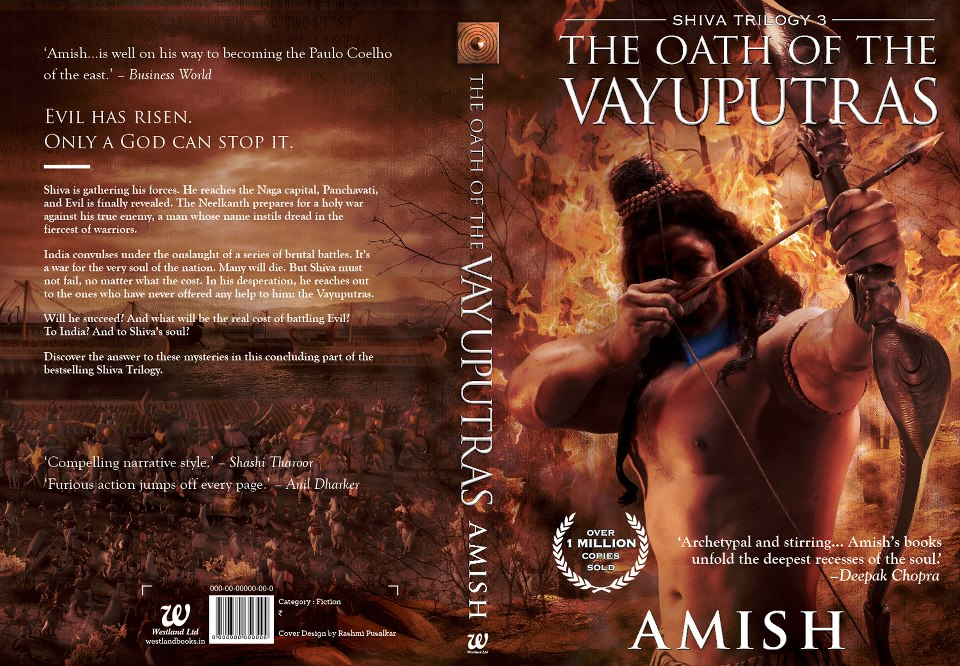 oath of the vayuputras the shiva trilogy amish tripathi