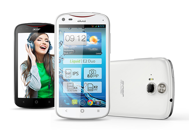 Acer's First Quad Core Phone 'Liquid E2' Announced!