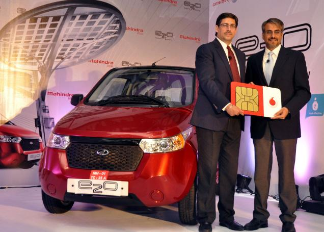 Mahindra Reva and Vodafone Collaborate To Make e2o 'Smarter'!