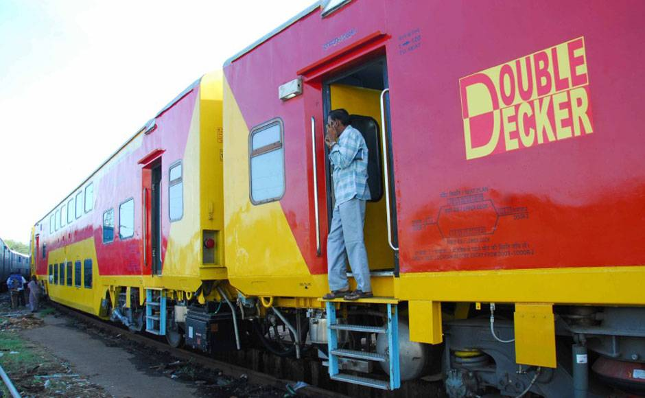 double decker train in india