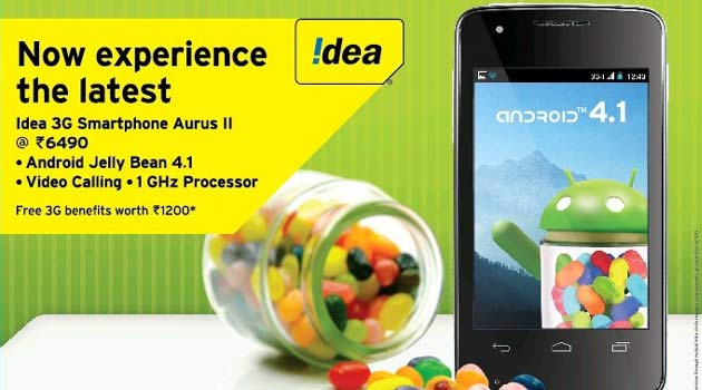 Idea Aurus 2: The Dual-Sim Android Smartphone Launched For INR 6,490/-