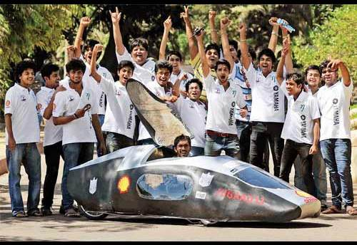 Shell Eco-Marathon: K.J.Somaiya's 'Jugaad 13' To Represent India!