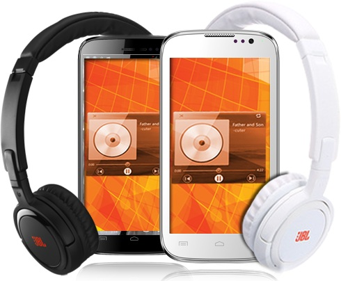 Micromax A88 Canvas Music + JBL Headsets at Rs 8,499/-