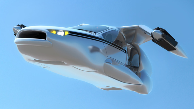 Terrafugia TF-X: The Gen-Next Four-Seater Flying Car