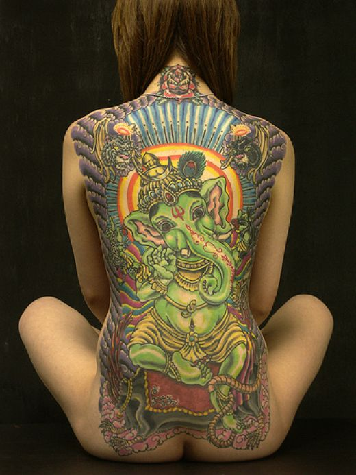 brahma religious tattoo