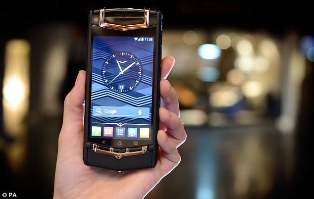 Vertu TI Android Phone In India for INR 6,49,990/-