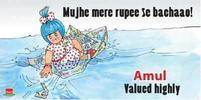 Amul Rupee Fall
