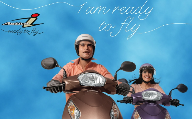 Honda Activa-i: Get Ready To Fly At Rs 44,200/-