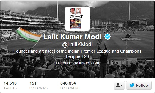 Lalit Modi Tweets: CSK Players Given Flats By Bookie!