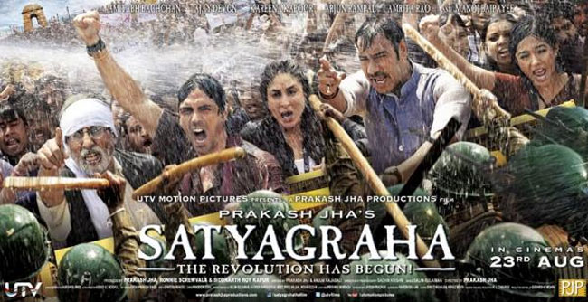 Watch The Trailer Of Prakash Jha's 'Satyagraha' – Democracy Under Fire!