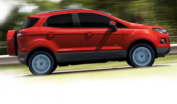 Ford EcoSport Rolled Out For Rs 5.59 Lakh