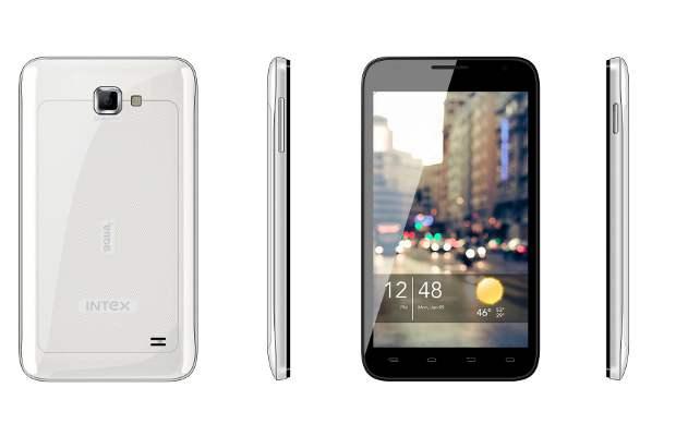 intex aqua i-5 dual sim smartphone