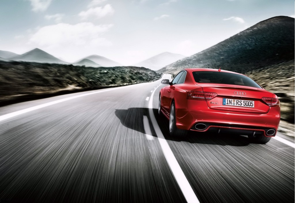 Audi RS 5 Coupe Back