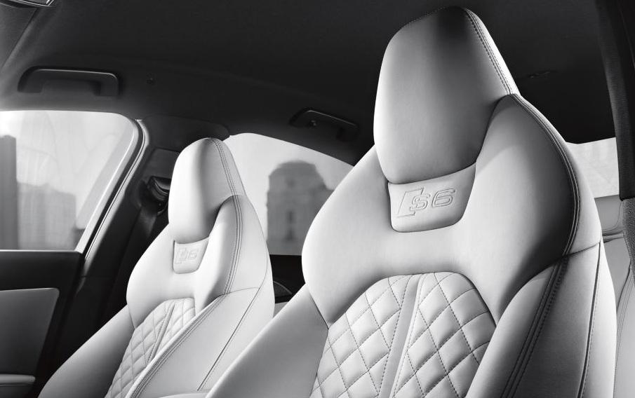 Audi S6 Seats