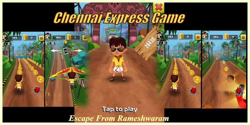 'Chennai Express: Escape from Rameshwaram' Game Launched For Android And Java OS!
