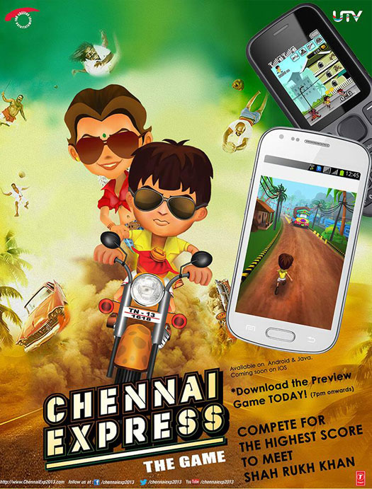 Chennai-Express-escape from rameshwaram-Game-Download-for-Iphone-and-android