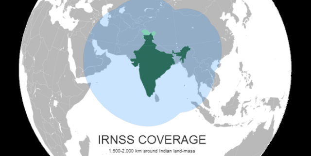 IRNSS Coverage
