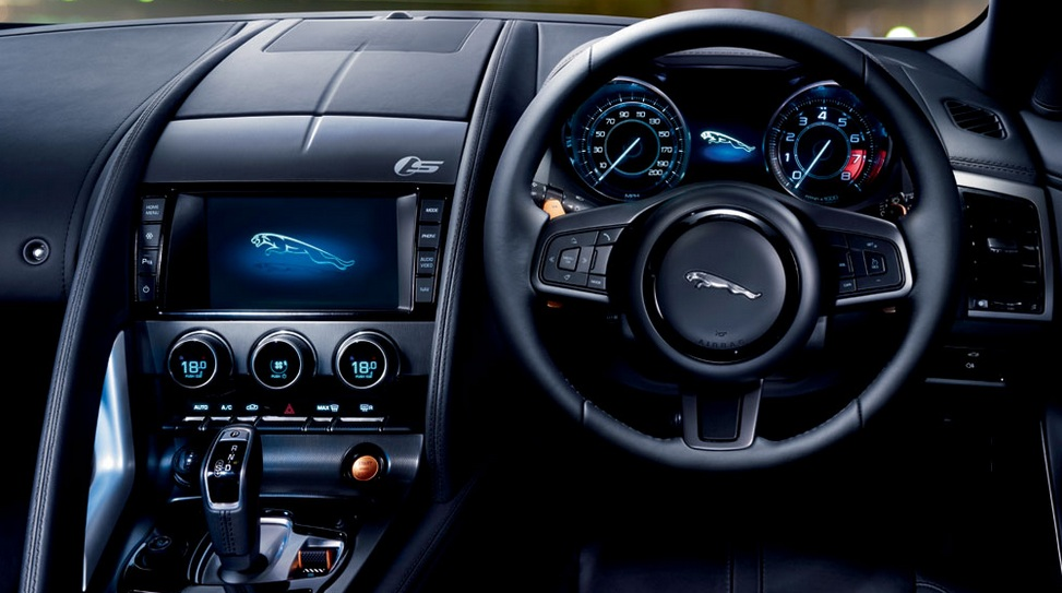 Jaguar F-TYPE S Interior