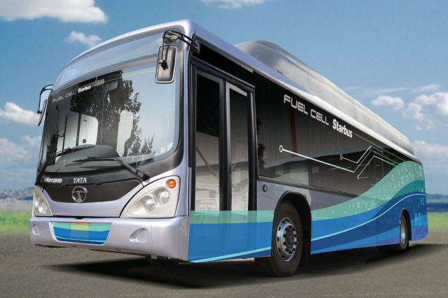 ISRO And TATA Motors Give India Its First Hydrogen Powered Bus!