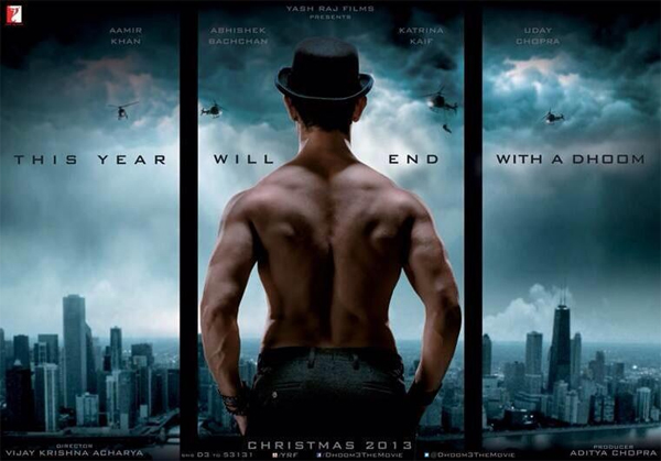 Dhoom 3: Official Motion Poster