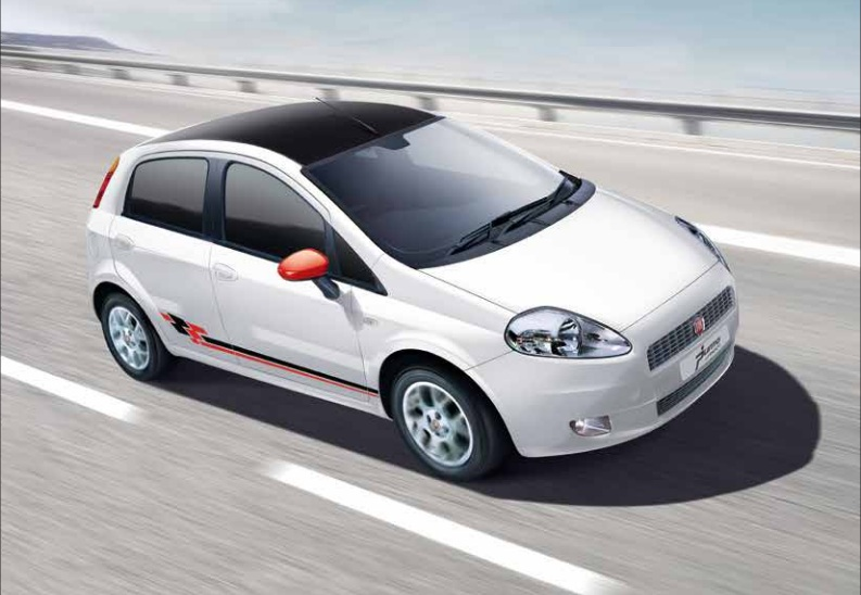 Fiat Punto Sport 2013 Rolled Out. Price In India Rs 7.6 Lakhs.