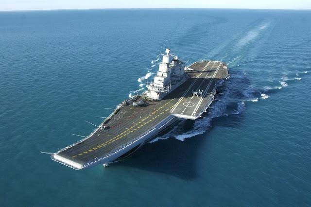 INS Vikrant indias biggest warship