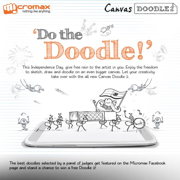 Micromax Canvas Doodle 2 Spotted: Price In India Rs.19,990